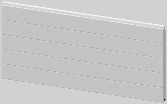 Segment bramy garażowej Krispol K2 RC
