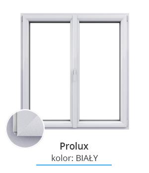 Okno Prolux, kolor: biały